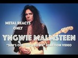 "YNGWIE MALMSTEEN ""Sun's Out Top's Down"" Reaction Video 