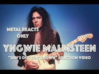"""YNGWIE MALMSTEEN """"Sun's Out Top's Down"""" Reaction Video 