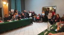 Des opposant à l'usine Clarebout au conseil communal de Quévy