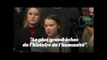 Greta Thunberg alerte l'Union européenne sur le climat