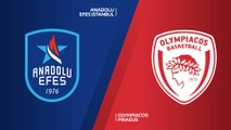 Anadolu Efes Istanbul - Olympiacos Piraeus Highlights | Turkish Airlines EuroLeague RS Round 23