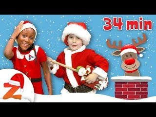 Kids Christmas Party Deck the Halls & more Nursery Rhymes and Christmas Carols Collection