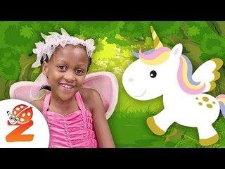Magical Wheels On The Bus Fairies & Baby Unicorns Zouzounia TV