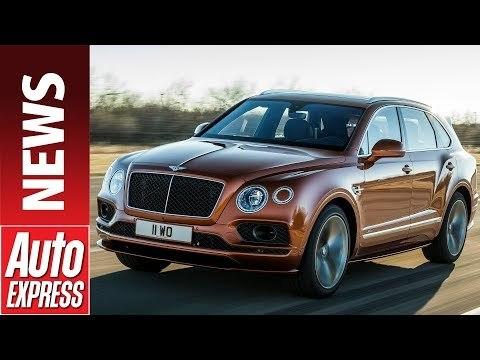 Bentley Bentayga Speed revealed – meet the world's fastest SUV
