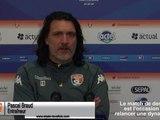 (J23) Laval - Cholet, avant-match avec P.Braud