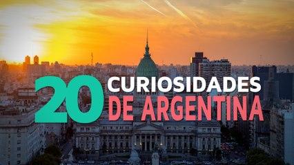 20 Curiosidades de Argentina  | El país del tango y las mil culturas