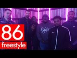 86 (T-Mula, Scrams & Gunna Grimes) feat Stampface freestyle - Westwood return of the Crib Session!
