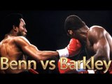 Nigel Benn vs Iran Barkley (Highlights)