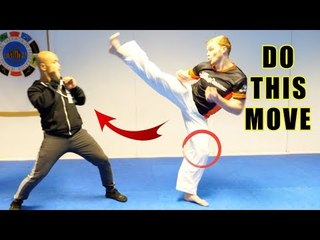 How to do knock out kick in UFC | Master Wong - GNT
