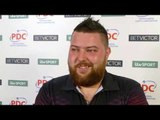 Michael Smith after his win over Ian White at the BetVictor Masters.