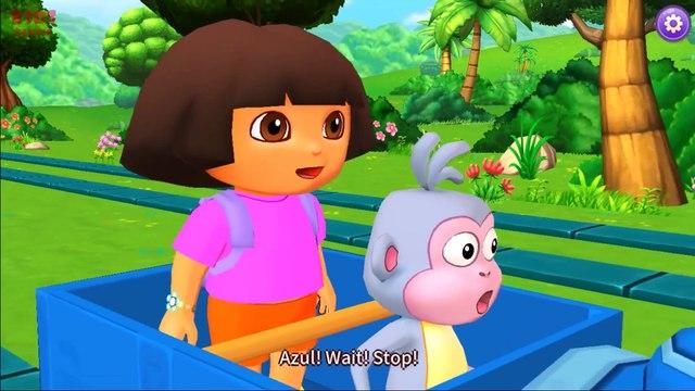 Dora The Explorer - Dora Games - Choo Choo Train - Dora & Boots - Videos For Kids