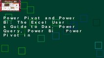 Power Pivot and Power Bi  The Excel User s Guide to Dax, Power Query, Power Bi   Power Pivot in