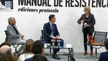 Mercedes Milá y Jesús Calleja, protagonistas en la presentación del libro de Pedro Sánchez