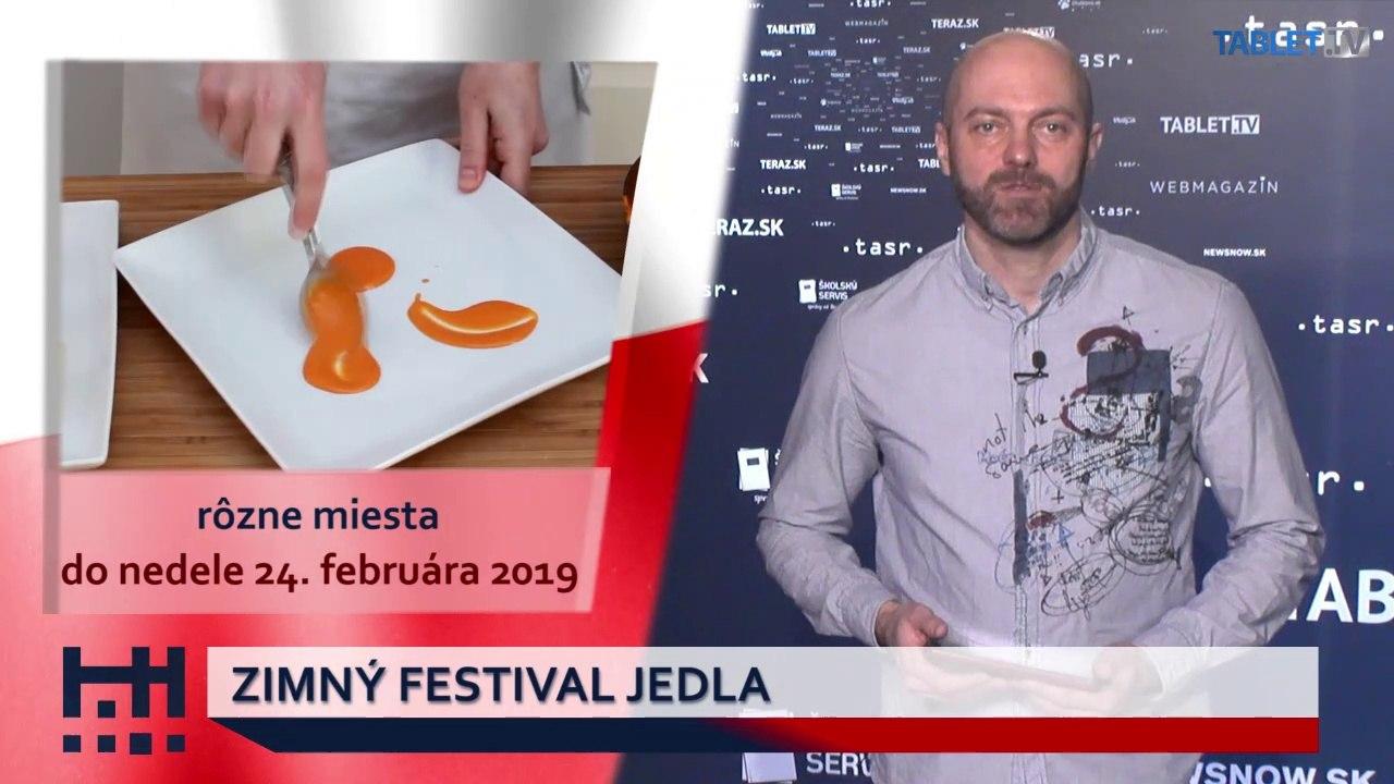 POĎ VON: Prehliadky mestom a Zimný festival jedla