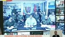 La lucha de los venezolanos para que la ayuda militar cruce la frontera con Colombia