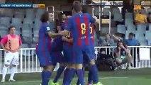 Les actions de grande classe de Sergi Palencia avec la réserve du Barça