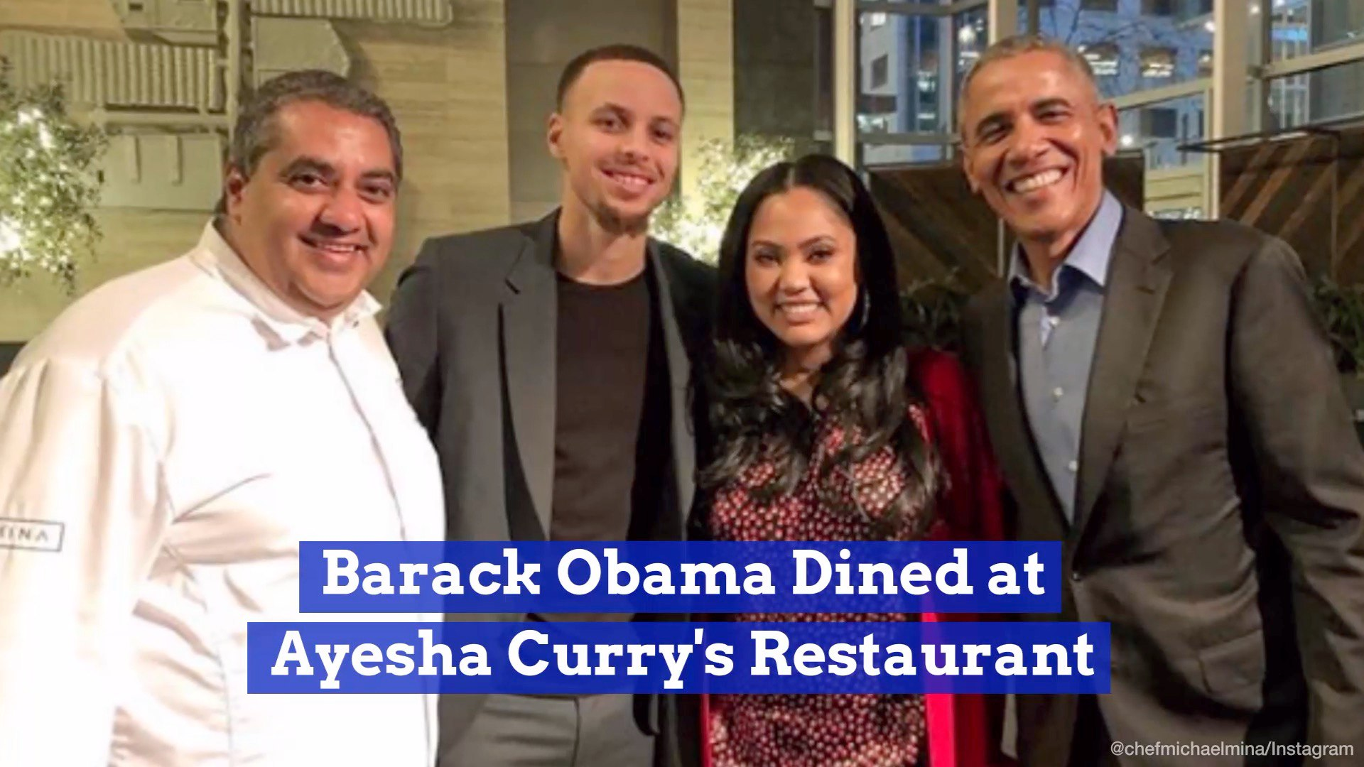 President Obama Goes For A Special Dinner On Presidents Day