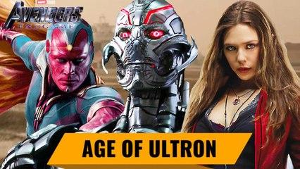 Avengers 4 Endgame Countdown: Avengers - Age of Ultron