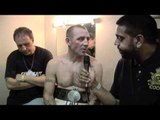 Gavin Tait Post-Fight Interview for iFILM LONDON / FIGHT NIGHT AT THE CORONET