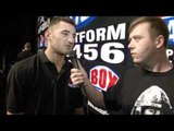Nathan Cleverly talks BoxNation, Tony Bellew & Wales presser for iFILM LONDON / BOXNATION PRESSER