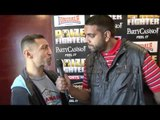 Takaloo Interview for iFILM LONDON / PRIZEFIGHTER WEIGH-IN