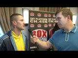 Ricky Burns talks CHANGING WEIGHTS, KATSIDIS & UK SUPPORT for iFILM LONDON / BURNS v KATSIDIS
