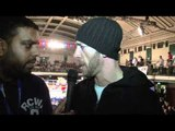 'IF I GET THE CHANCE TO SMASH CLEVERLY'S FACE IN, I WILL' - ENZO MACCARINELLI POST FIGHT INTERVIEW