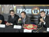 PRESS CONFERENCE - CARL FROCH v LUCIAN BUTE / NO EASY WAY OUT / iFILM LONDON