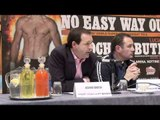CARL FROCH v LUCIAN BUTE FINAL PRESS CONFERENCE (FULL & UNCUT) / iFILM LONDON / 23rd MAY 2012