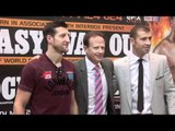 CARL FROCH v LUCIAN BUTE HEAD TO HEAD / FINAL PRESS CONFERENCE / iFILM LONDON.