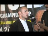 KEVIN MITCHELL INTERVIEW FOR iFILM LONDON / MITCHELL v BURNS LONDON PRESSER