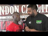 ERICK 'THE EAGLE' OCHIENG INTERVIEW FOR iFILM LONDON / LONDON CALLING PRESS CONFERENCE