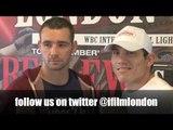 LEE PURDY v GUMERSINDO CARRASCO HEAD TO HEAD / LONDON CALLING / iFILM LONDON