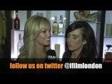 SARA BEVERLY JONES & ZOE MORRELL (SUGAR HUT HONEYS)  INTERVIEW FOR iFILM LONDON