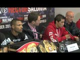 KELL BROOK v HECTOR SALDIVIA - OFFICIAL PRESS CONFERENCE / iFILM LONDON / THIS IS IT