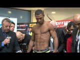 KELL BROOK v HECTOR SALDIVIA - OFFICIAL WEIGH IN / iFILM LONDON / THIS IS IT