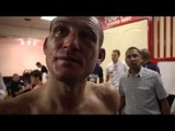 DERRY MATHEWS, DAVID COLDWELL, TOMMY COYLE & JAMIE MOORE - POST FIGHT INTERVIEW / COYLE v MATHEWS
