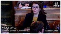 Justice4climate - Intervention de  Cécile Duflot
