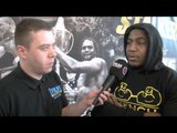 IAN LEWISON INTERVIEW FOR iFILM LONDON / PRIZEFIGHTER INTERNATIONAL HEAVYWEIGHTS 3 - WEIGH-IN