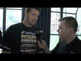 TIMO HOFFMANN INTERVIEW FOR iFILM LONDON / PRIZEFIGHTER INTERNATIONAL HEAVYWEIGHTS 3 WEIGH-IN
