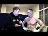 JOE DUFFY POST-FIGHT INTERVIEW FOR iFILM LONDON / DUFFY v DE JESUS