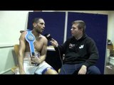 WAYNE ALWAN-ARAB POST-FIGHT INTERVIEW FOR iFILM LONDON / ALWAN-ARAB v SUTIDZE