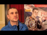RICKY BURNS ON JOSE GONZALEZ - 'THERE'S NO EASY FIGHTS FOR ME AT THIS LEVEL' / GLASGOW PRESS CONF.
