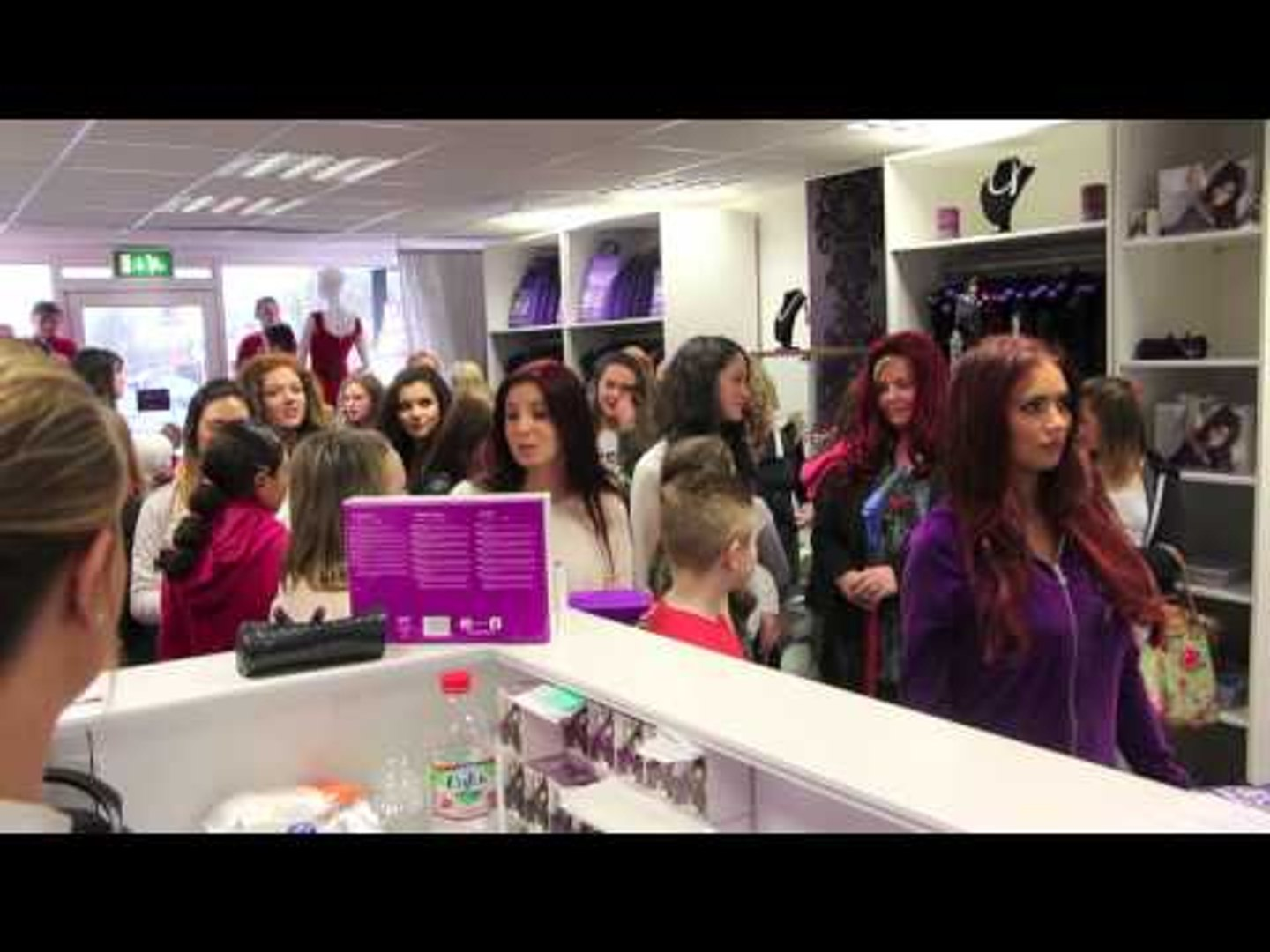 THE MAKING OF AMY CHILD'S HARLEM SHAKE VIDEO @ AMY CHILDS' BOUTIQUE / iFILM LONDON