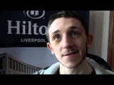 JAZZA DICKENS TALKS TO iFILM LONDON AT WEIGH IN / DICKENS v FERNANDES