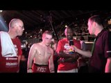 JOEY TAYLOR (& TEAM TAYLOR) POST FIGHT INTERVIEW FOR iFILM LONDON   TAYLOR v RAZAK