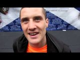 RICKY BURNS POST WEIGH-IN INTERVIEW FOR iFILM LONDON / BURNS v GONZALEZ