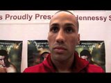 JAMES DeGALE TALKS STJEPAN BOZIC, CARL FROCH & GEORGE GROVES / iFILM LONDON /DeGALE v BOZIC WEIGH IN