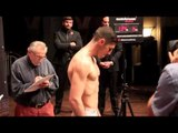TOMMY COYLE v JOHN SIMPSON - OFFICIAL WEIGH IN / EYE OF THE TIGERS