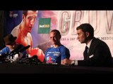 CARL FROCH v GEORGE GROVES POST FIGHT PRESS CONFERENCE - WITH GROVES, FIZTPATRICK & HEARN